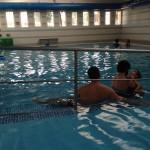 1 heure de piscine ce matin