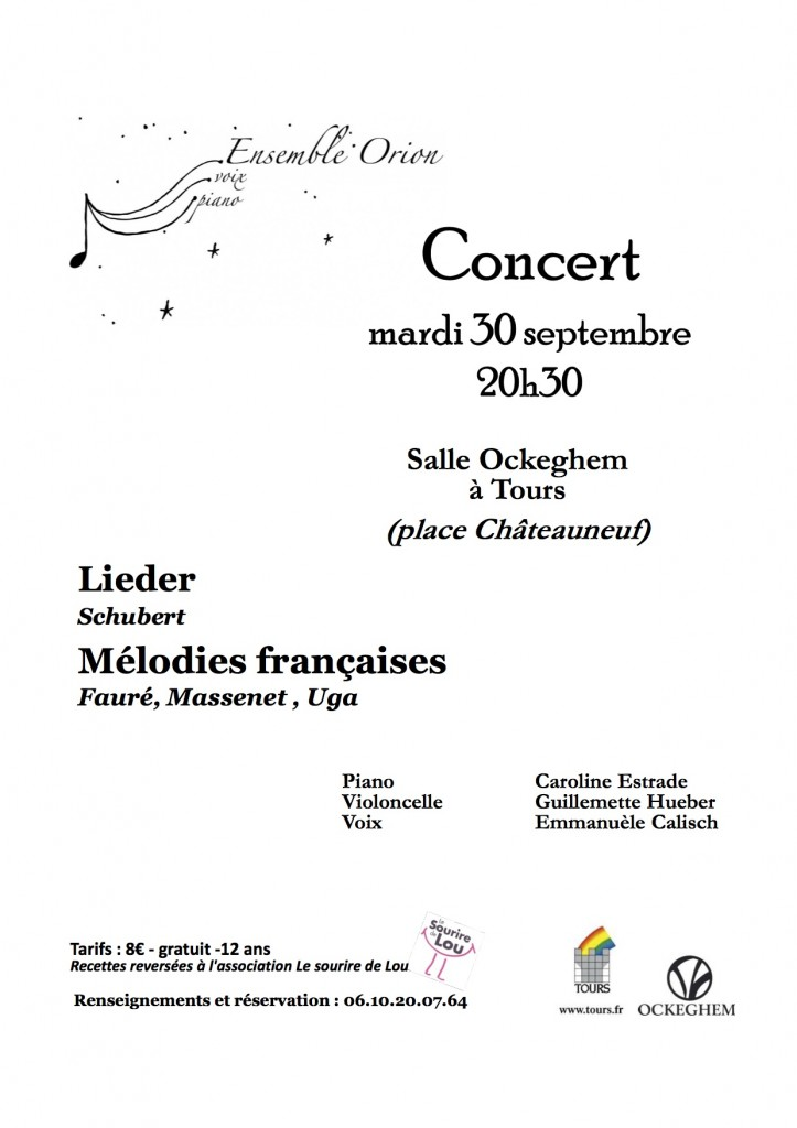 Concert 30 septembre